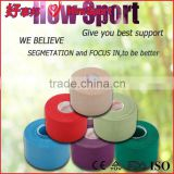 Medical Sports Knee And Ankle Support Athletic Strapping Porous Cotton Rigid Athletic Tape