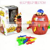 Hot sell Classic Toy Game Pirate Bucket for Children Funny Lucky Stab Pop Up Toys Gadgets Pirate