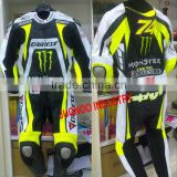 Motorcycle Biker Cowhide leather biker suit