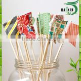 Factory wholesale flag bamboo sticks
