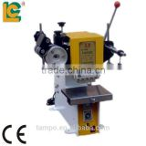 TH-80 Manual Plane hot foil embossing machine for Leather ,books,cards
