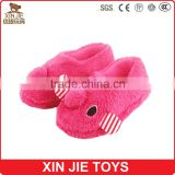 children winter indoor slipper cheap plush animal slipper 2015 hot selling kids plush slippers