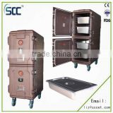 Rotomold plastic food storage cabinets, keep food warm cabinet (proved by FDA,CE,ISO9001.SGS)