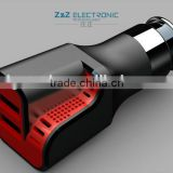 new function mini car charger with patent,original factory High Efficiency iphone 5 car charger with high quality at low price