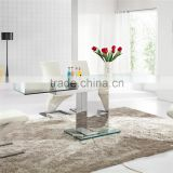 D808 Hot Sale China Malaysia Glass Dining Table For Dining Room