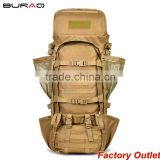 Military hiking climbing travel waterproof tactical 1000D Cordura Backpack