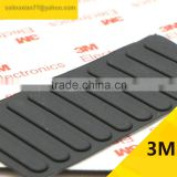36*6*1.6MM Special Self Adhesive Black Anti Slip Bumpers Silicone Rubber Feet Pads High Sticky Shock Absorber