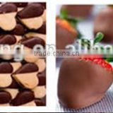 Kuihong stainless steel small chocolate coating machine, chocolate coated machine,food machine