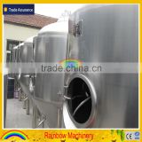 1000L Glycol Jacket Beer fermenter/Fermentation Tank/Stainless Steel Conical Fermenter for Sale