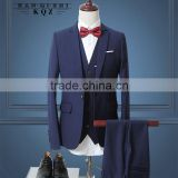 Wedding suits pictures blue men's blazer tailored male tuxedo woolen fashion man suits