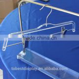 China TOBEST DISPLAY Factory custom acrylic clothes hangers