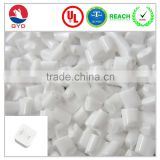 Oxygen index opaque abs material, Fire retardant Modified plastic raw material bulk plastic pellets