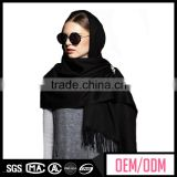 Popular cape shawls, square tudung silk scarf, knitting wool scarf