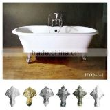 supplier sell high quality luxurious durable cast-iron bath-tub/cast-iron burliness bath/beautiful bathtub