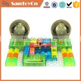 Educational toys 41pcs diy plastic kids electronic blocks