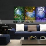 HOT! 2015 lastest led lighted canvas wall art print for christmas gift cheap china factory wholesale