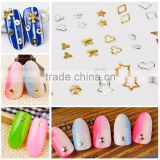 2016 Factory Price Nail diy materials, Japanese style mini metal rivets nail strips to drill the accessories wholesales
