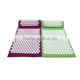 Back Pain Relief Acupressure Mat and Pillow Set