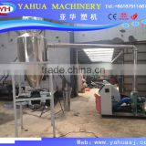250 mm plastic PVC pipes recycling grinder machine