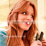 ODM Charmsies Bella Thorne metallic sweet little heart-shaped iron in hair charms hair accessories iron-on hair jewel factory