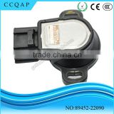 2016 hot selling auto electrical tps car parts denso throttle body position sensor 89452-22090 for Toyota