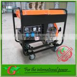 5kw Air-cooled Diesel Open Silence Generator Set with wheels and handles easy move portable diesel generator 6kva
