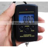 Digital lcd display mini hook luggage scale 40kg