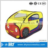 Famous brand popular lovely car shape cloth kid play tent for wholesale