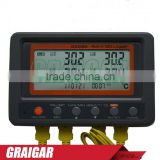Multi-channel Digital Thermometer AZ88598 4 Channel K Type Thermocouple Temperature logger SD Card Data Logger AZ-88598