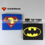 Superman batman wallet Marvel DC Comics Iron Man Batman Spider Man Superman Character Wallets Purse
