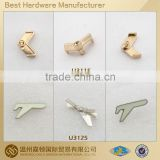 fashion 15mm zinc alloy Silver gold hardware accessories for shoes belts garment apparel