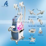 Fat Reduce Cryolipolysis Cavitation Rf Lipo Laser 500W Slimming Machine Cooltech Fat Freeze