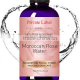 ORGANIC ROSE WATER TONER Spray for Face & Body. Soften Dry and Acne Prone Skin. Hydrate, Nourish and Revive