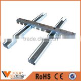 Cassette keel suspended Hook Channel Ceiling System metal stud and track for Drywall