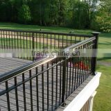 factory sale outdoor wrought iron stair railing, used wrought iron balcony
