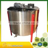 durable 24 frames electricl honey extractor with stand and honey flow gate; durable honey extractor ;