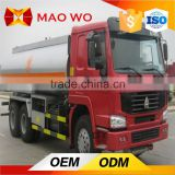 Used 3axles 20m3 oil tank mercedes trailer truck and oil tank semi trailer for sale