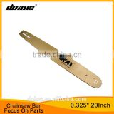 "New Brand Chainsaw Spare Parts 20 Inch 325"" Pitch 76 Sections Laminated Chain Saw Guide Bar"