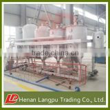 1-15TPD rapeseed oil refining machine super oil refinery