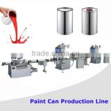 Complete Automatic Proudction Lines Machines To Make Painting Cans