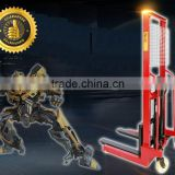 1ton 1.6m manual hydralic truck pallet jack stacker