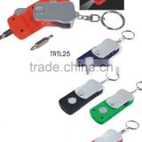 Mini tools with LED light keychain