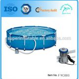 Metal frame Swimming Pool Above ground