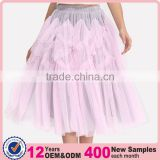 Domin fashion dance can can skirts cheap with mesh