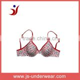 js-171 young girls invisible bra with beautiful heart printing (Accept OEM)