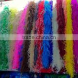 holesale fashion ostrich feather boas, feather trim For Party decoration