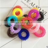 Multi-color Telephone Wire String Hair Ties Rubber Elastics Hair Bands Ring Ponytail Holders Hairbans Hair Accessories