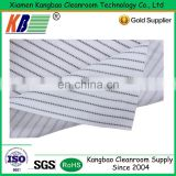 Polyester and Nylon fabric cleaning cloth kb-9001 Polyester and Nylon USED for High-tech clean room wiping