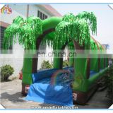 Funny cheap giant inflatable water slide, inflatable double lane slip slide,inflatable slip n slide for adult