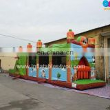 Best seller commercial grade animal inflatable obstacle course